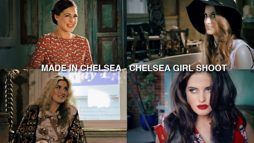 River Island & Made in Chelsea (Chelsea Girl shoot)