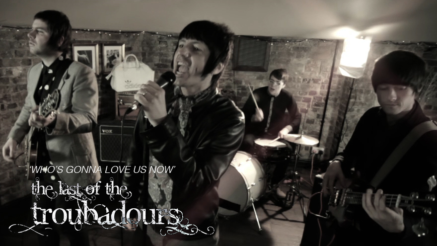 The Last of the Troubadours – promo video shoot