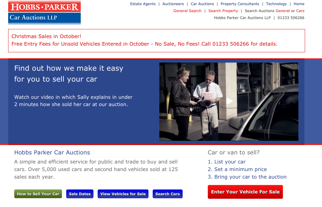 It's easy! How to sell your car at auction.