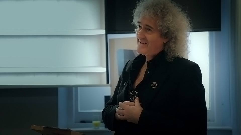 Brian May Presents the '40 Years of Queen' eBook at The Groucho Club.