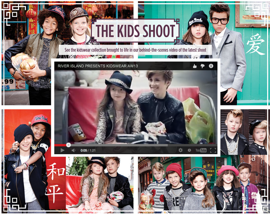 River Island Kids Shoot for AW13