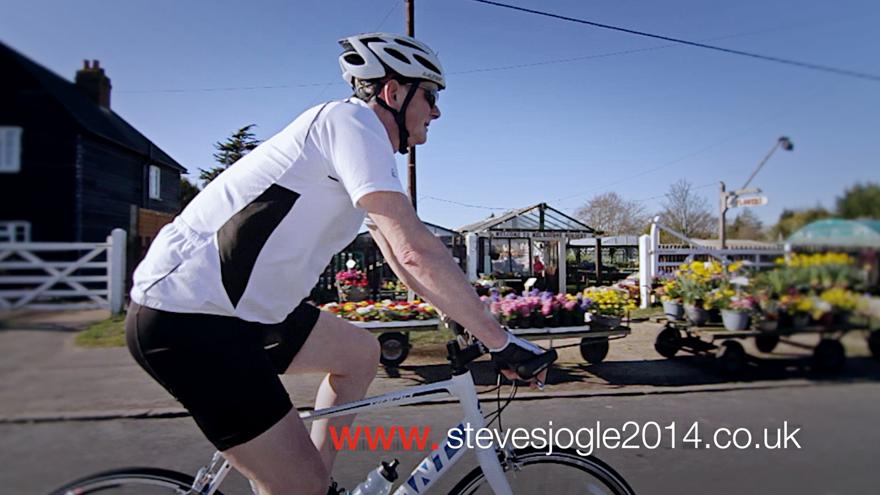 A PSA for Steve O'Sullivan's John O'Groats – Lands End charity ride